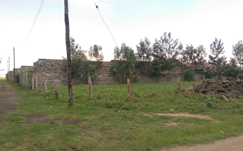eighth acre plot for sale in pipeline 50mts from tarmac.