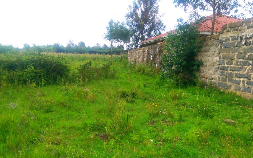 1/4 acre plot for sale in Kiamunyi,Nakuru