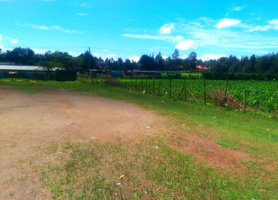 1/8 acre plot next to Egerton university, Njoro.