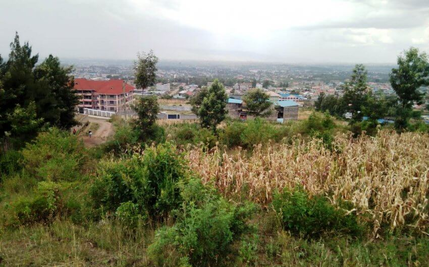 1/2 acre plot for sale in Milimani,Nakuru